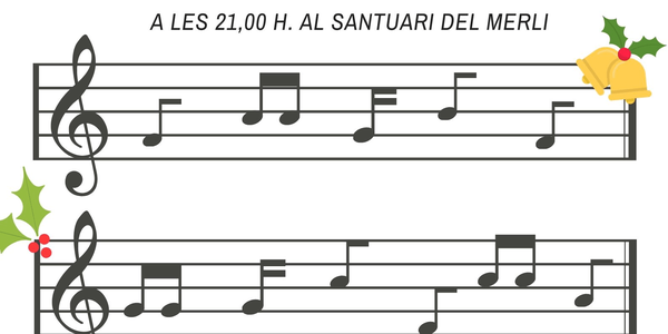 Cartell del concert de Nadal a Alguaire
