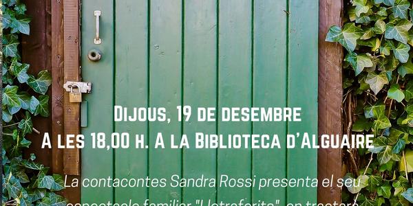 """Els """"Lletraferits"""" a la Biblioteca Pública d'Alguaire"""