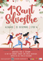 Arriba el 31 de desembre a Alguaire la 1a Sant Silvestre