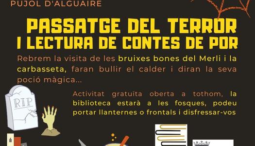 La Biblioteca Josep Lladonosa celebra la nit de Halloween