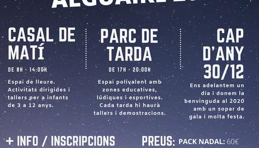 L'Ajuntamen d'Alguaire organitza el Parc de Nadal 2019