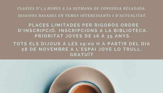 L'Ajuntament d'Alguaire ofereix un curs de conversa en llengua anglesa per a joves