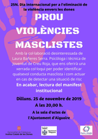 L'Ajuntament d'Alguaire ofereix una xerrada col·loqui sobre les violències masclistes