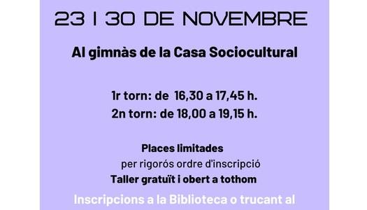 L'Ajuntament d'Alguaire organitza un taller gratuït de ioga dirigit a famílies amb nens i nenes entre 3 i 12 anys.