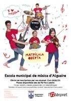 Matrícula oberta - Escola municipal de música d'Alguaire
