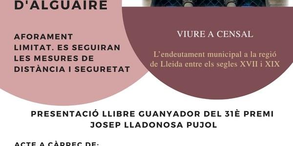 Presentació del 31è Premi Josep Lladonosa