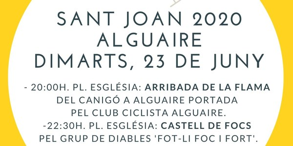 Sant Joan 2020